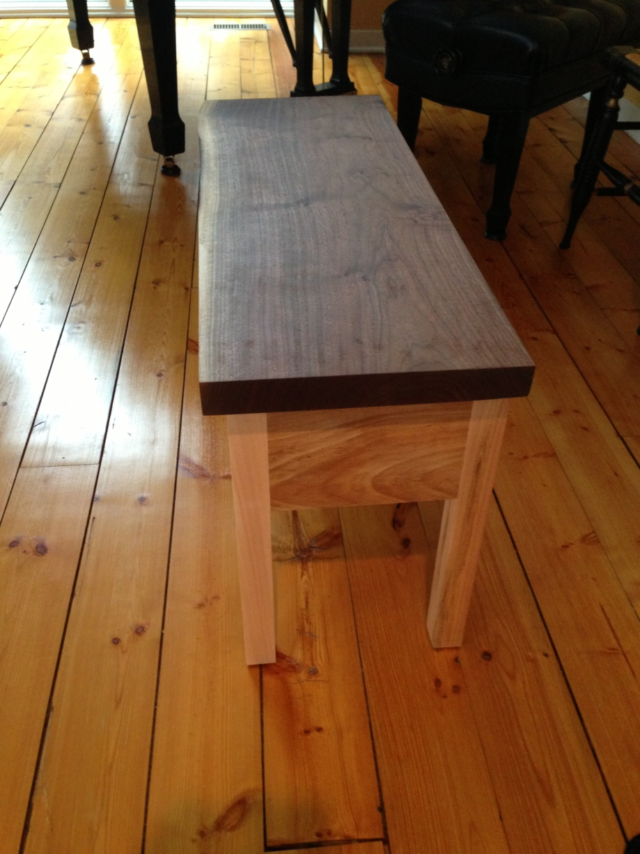 Detail is a xxiv XTC 84 bench upside maple bench tops which arrived on ...